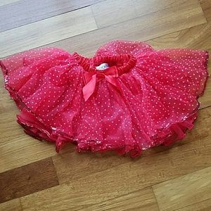 Other - Toddler red tutu skirt